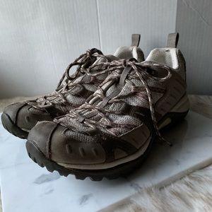 Merrell // Grey, Pink Siren Sport Hiking Shoes 9